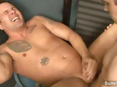 Finn Daniels and Jeremy Lange fuck in the garage porn tube video