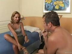 Brazilian cougar with a great body enjoying a hardcore anal fuck porn tube video