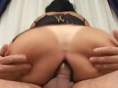 Milf Latina Black Stockings Sex
