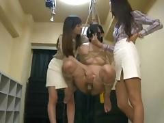 Japanese bondage handjob