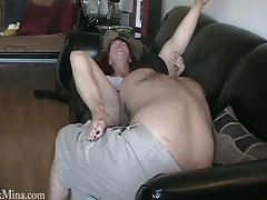 Hairy Hot Stud Bangs A Naughty MILF Cowgirl Hardcore Doggystyle