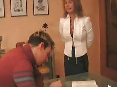 German Teacher Lesson tube porn video