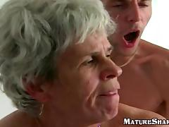 Young Guy Fucks Fat old granny snatch tube porn video