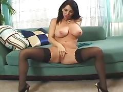 Big titted Milf gets her hairy cunt fucked roughly tube porn video