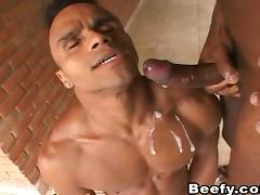 Beefy Gays Having Outdoor Sex tube porn video