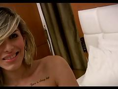 Liah Ferreira - Hot shemale on bed porn tube video