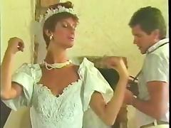 Bride, Bride, Dress, Wedding, Vintage, Married