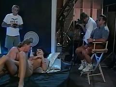 Leena, Asia Carrera, Tom Byron in classic xxx clip