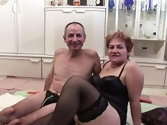 Grandma and grandpa in first time casting fuck for money tube porn video