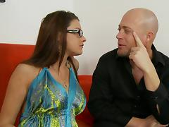 A hot MILF in high heels can't get enough hard cock