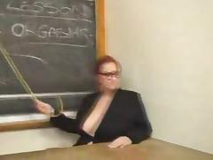 2 big boobed women fuck in classromm tube porn video