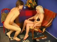 Russian Mom Catches not Son Masturbating WF