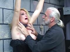 BDSM, BDSM, Blonde, Latex, Mature, MILF