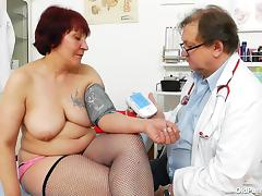 Clinic, Big Tits, Fingering, Fishnet, Tattoo, Wet