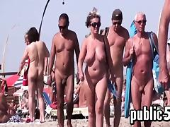 Beach, Amateur, Beach, French, MILF, Nipples