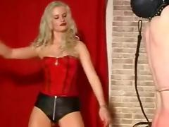 Whipping and caning by mistress Syonera von Styx porn tube video