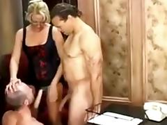 The Absolute Best of Bi MMF: My favorite blonde tube porn video