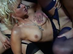 Bar, Bar, Group, Hardcore, MILF, Nylon