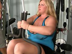 Veronica Vaughn BBW getting her chunky ass ravished