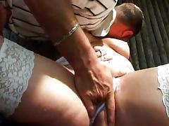 Buxom German bitch banged in the woods tube porn video