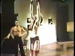C.J. Laing, Tony Perez, Jennifer Jordan in vintage porn scene