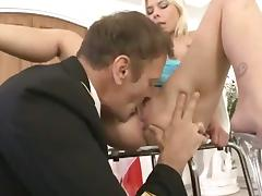 Huge Euro Orgy for Rocco Siffredi and Friends