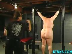 Slaves tits hang to her knees porn tube video