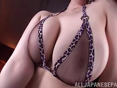 Japanese, Asian, Big Tits, Boobs, Bra, Close Up