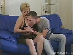 Mom and Boy, 18 19 Teens, Amateur, Drilled, Granny, Horny
