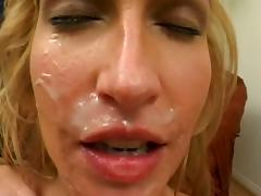Sophie evans enjoy the sex and gets amazing facials.