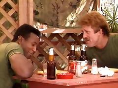 Aja, Jade East, Kascha in classic porn scene