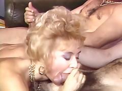 Britt Morgan, Elle Rio, Nikki Knight in classic fuck video
