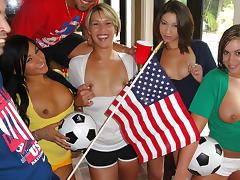 Aliha, Esmi Lee - Titillating Soccer Fans