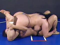 Heavy Catfight tube porn video