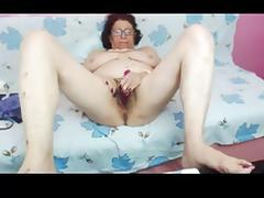 Granny, Amateur, Granny, Hairy, Masturbation, Mature