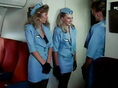 Foxy Flight Attendants #57 porn tube video