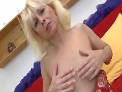 Mom and Boy, Granny, Mature, Old, Penis, Saggy Tits