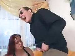 Plump slut-mom from street porn tube video