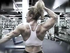 Heather Armbrust 01 - Female Bodybuilder tube porn video