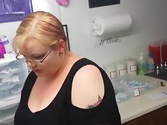 goth girl gets her nipple pierced porn tube video