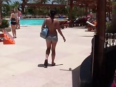 Leony April & Lexxis & Zuzka in hot lassie rides dick in a hotel sex video
