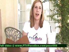 Ingenious Busty Teenage Woman Interview