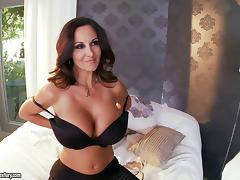 Ava Addams and her huge tits go for a ride on a big dick