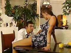Retro, Classic, College, German, Vintage, Double Penetration