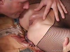 Tantalizing Babes With Big Tits Moans While Being Pinned Missionary