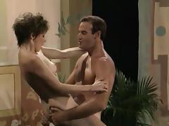 Hardcore retro sex video with short-haired milf Laurie Cameron tube porn video