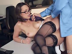 Hot secretary shows her boss why he hired her in the first place porn tube video