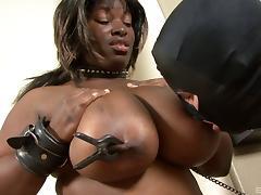 Bound, Big Tits, Black, Bondage, Bound, Chubby
