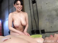 Lustful Asian milf is hungry for a cock to ride on