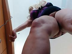 BBW, BBW, Big Tits, Tease, Russian Big Tits